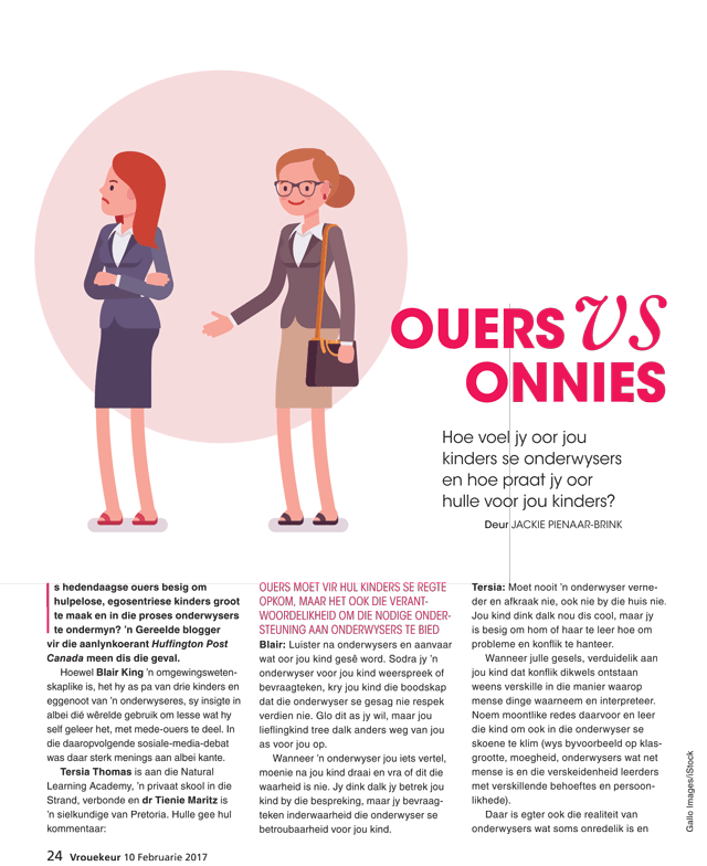 ouers v onnies
